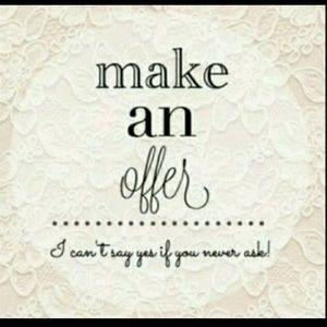 Other - All reasonable offers considered. 😊